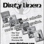 Ad in Blues Revue magazine
