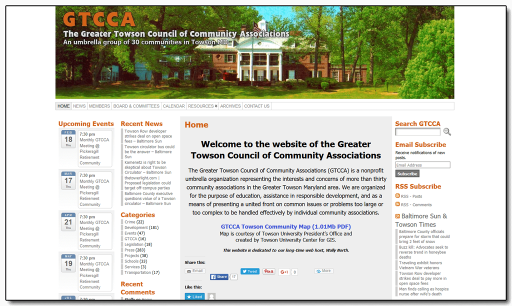 Greater Towson Council of Community Associations