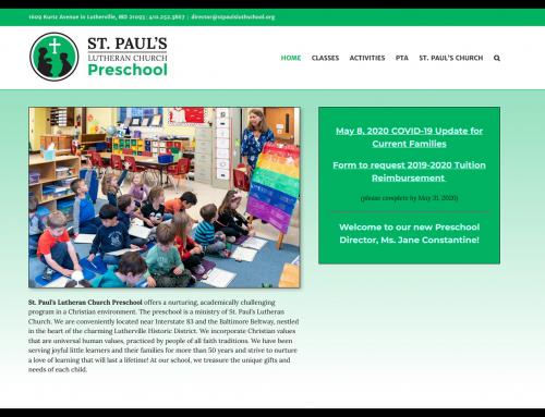 St. Paul's Lutheran Church Preschool